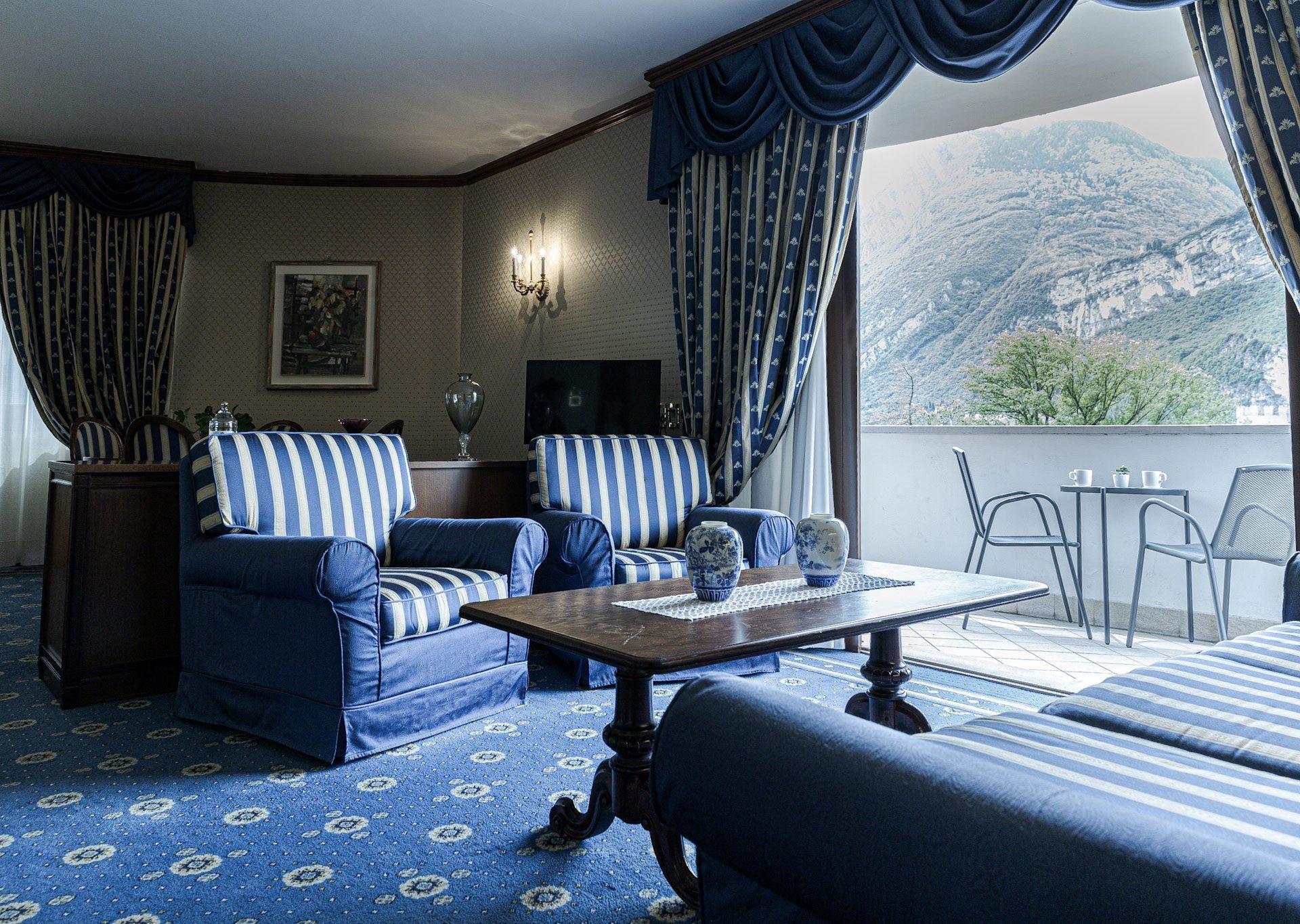 Salotto Presidential Suite Grand Hotel Trento