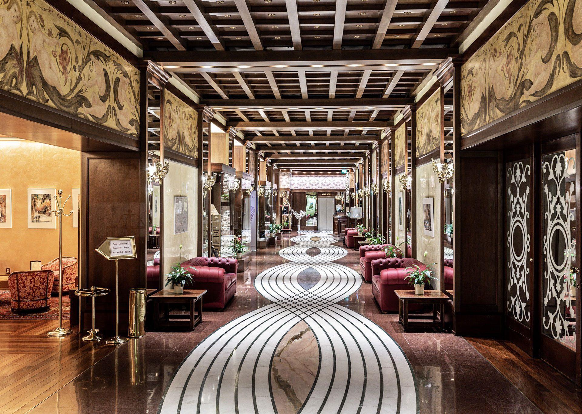 Interni Grand Hotel Trento