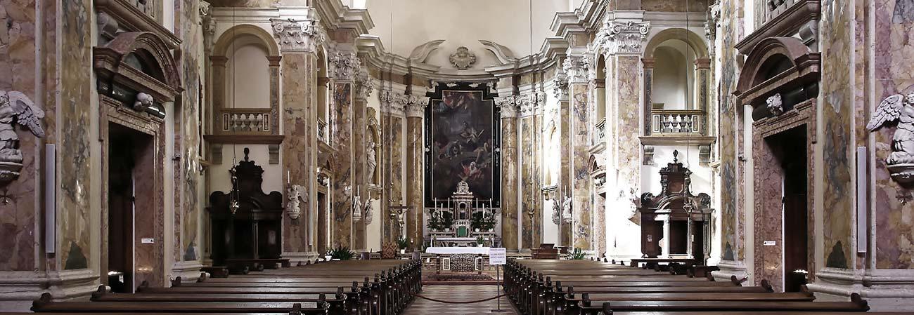Trento da vedere: La Chiesa di San Francesco Saverio