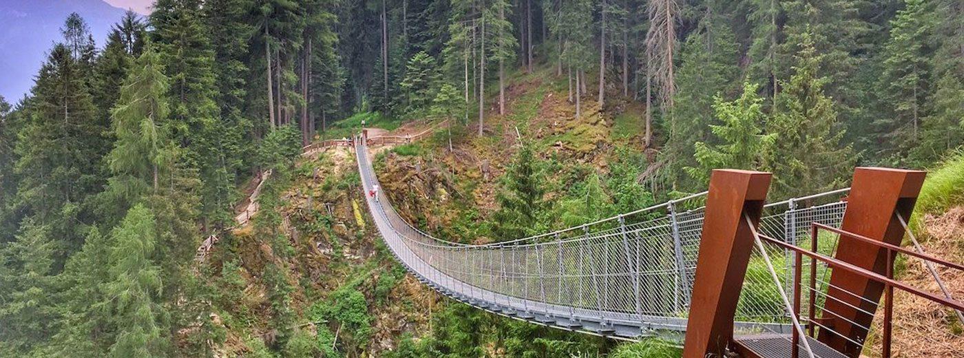 Ponte sospeso rio Ragaiolo