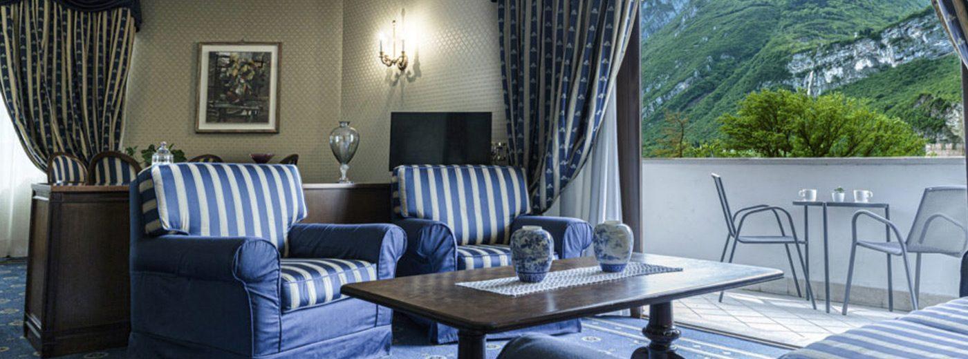 Salottino lusso suite hotel a Trento